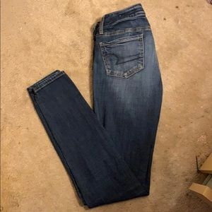 Low Rise American Eagle Jeggings